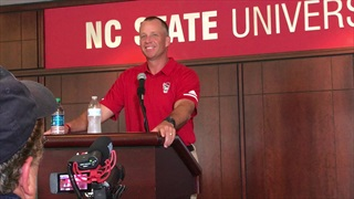 WATCH: Doeren Talks Wolfpack Football At Media Day