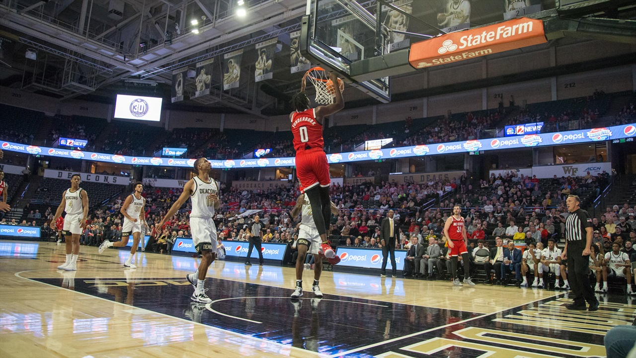 GAME PHOTOS: NC State's Road Win At Wake Forest