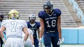COMMIT ALERT: East Forsyth 2021 DE Zyun Reeves Picks NC State