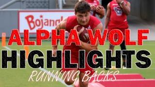 ALPHA WOLF HIGHLIGHTS: Running Back Drills