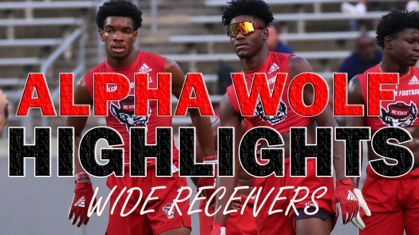 ALPHA WOLF HIGHLIGHTS: Wide Receivers