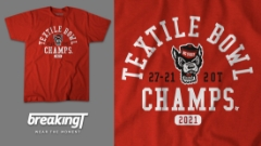 """Get Your """"Textile Bowl Champs"""" Shirt Today!"""
