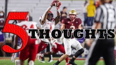 FIVE THOUGHTS: Boston College